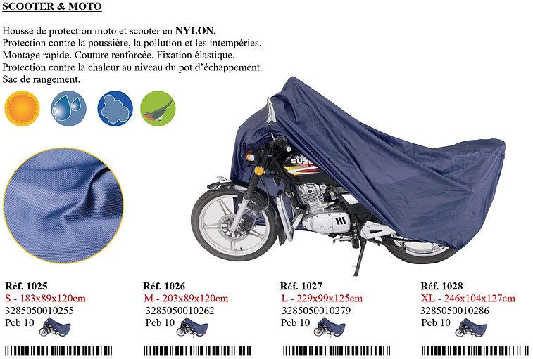 housse de protection moto et scooter per