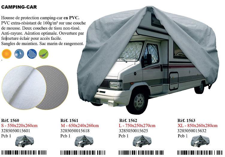 housse camping car pvc peraline