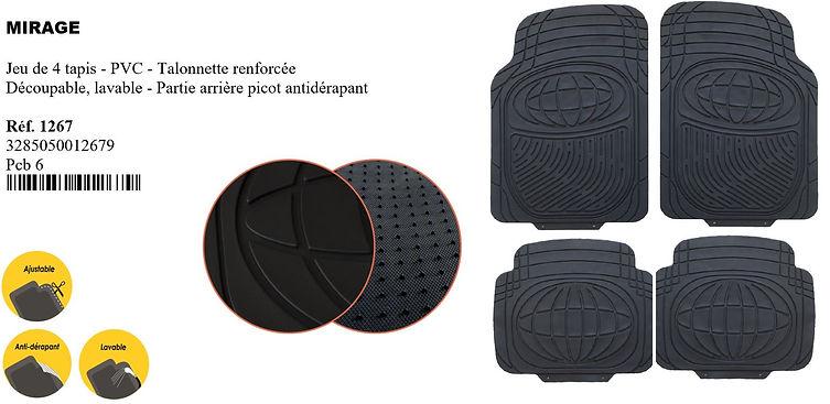tapis de voiture peraline accessoires au