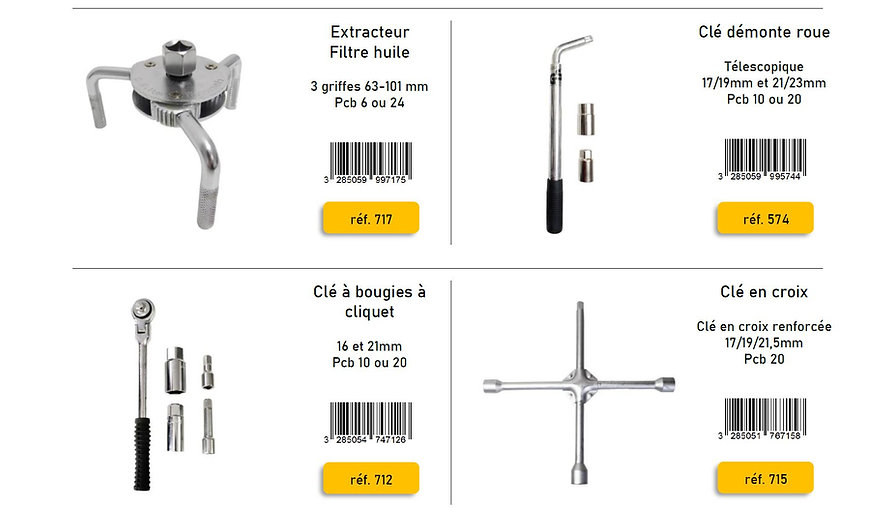 outillage outils peraline accessoires automobile