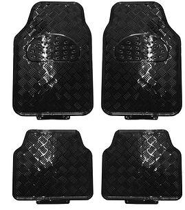 réf 86 tapis automobile alu pvc tuning noir mat