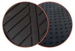 réf1286 tapis auto 2 pièces pvc forme bac