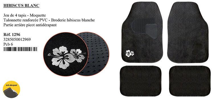 tapis moquette hibiscus peraline accesso