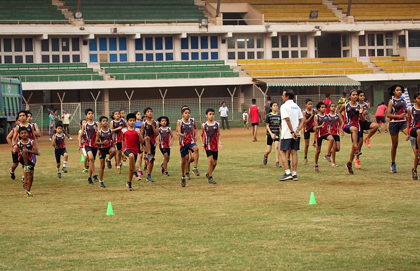 Dadoji Stadium Thane, Athletic Track, Sprinters