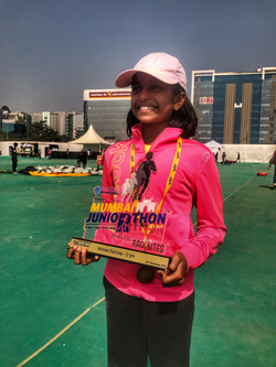 Junior Marathon Winner
