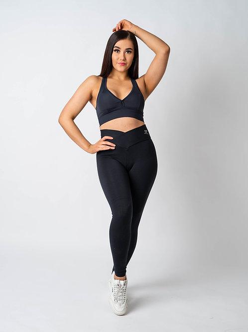 Baseativa V-Waist Legging Suplex Black