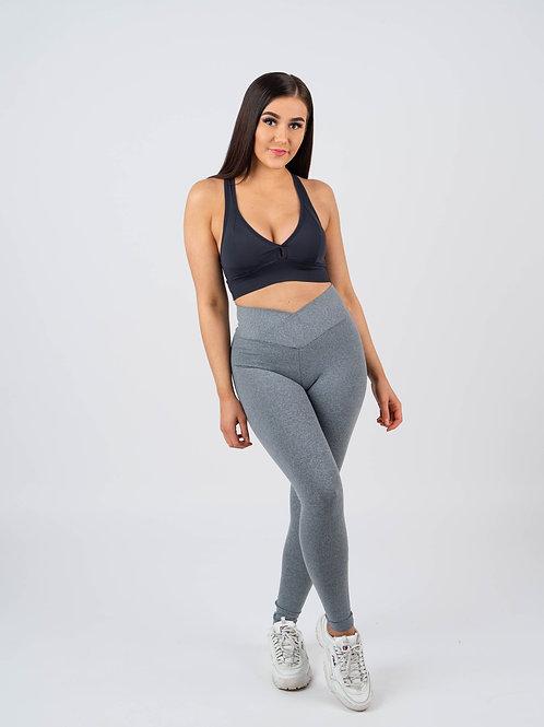 Harmaa V-Waist Legging Suplex
