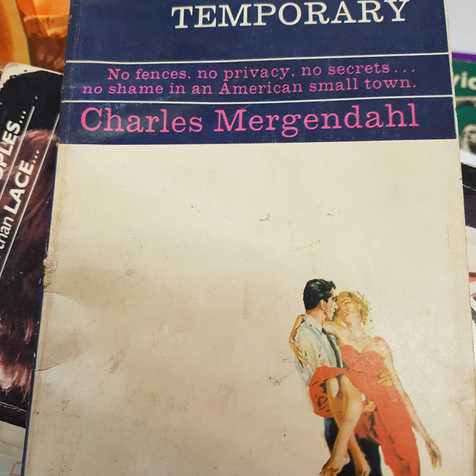 Charles Mergendahl 'It's only temporary'