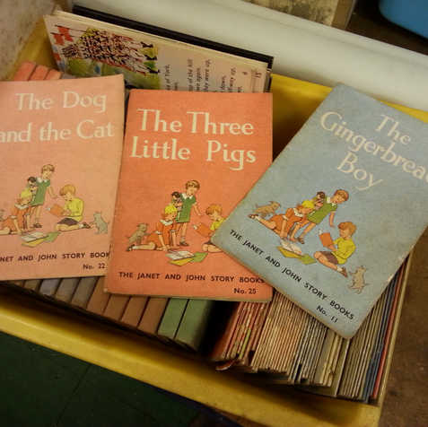 'Janet and John' story books