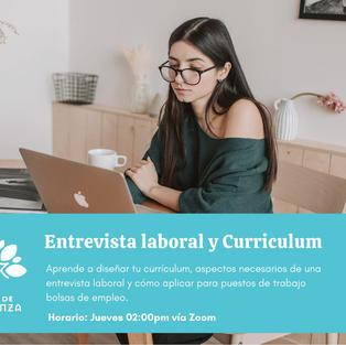 Entrevista laboral y Curriculum
