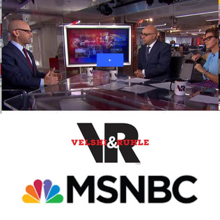 MSNBC Velshi & Ruhle