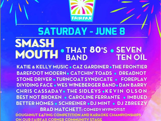 Best Not Broken to perform at CelebrateFairfax with Smash Mouth!