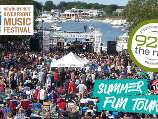 Help us play at Newburyport Riverfront Music Fest with 92.5 The River!