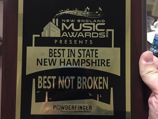 THANK YOU for making us a 2016 New England Music Award Winner!!