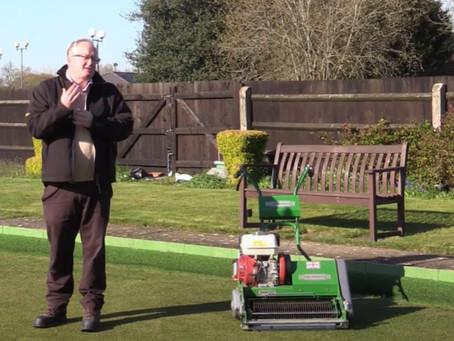 Green maintenance - April programme (video)