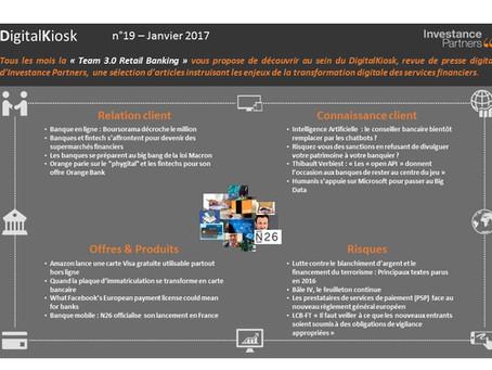 DigitalKiosk n°19 - Newsletter Digital & Distribution Janvier 2017