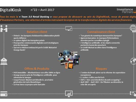 DigitalKiosk n°22 - Newsletter Digital & Distribution Avril 2017