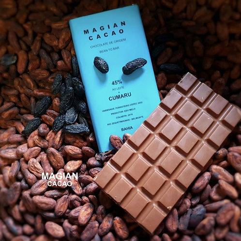 CHOCOLATE 45 % + CUMARU 85g