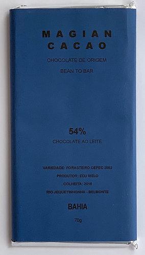 CHOCOLATE AO LEITE 54 % CACAU