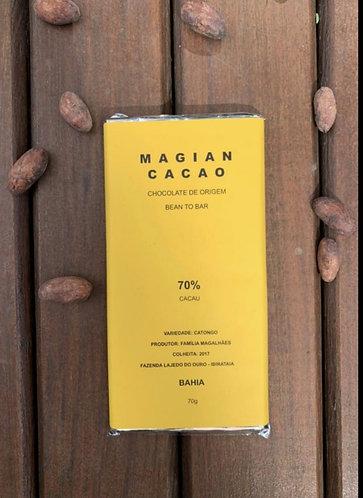 70% CACAU FORASTEIRO CATONGO 70 g