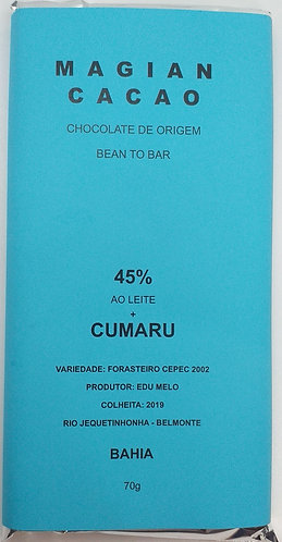 Chocolate 45 % + Cumaru
