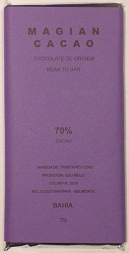 CHOCOLATE 70% CACAU TRINITÁRIO CCN51