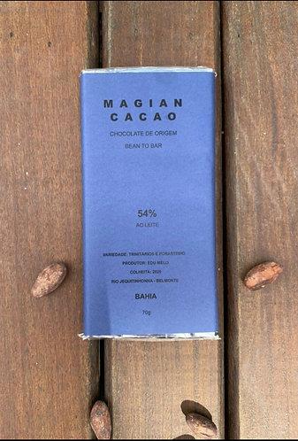 CHOCOLATE AO LEITE 54 % CACAU 70 g
