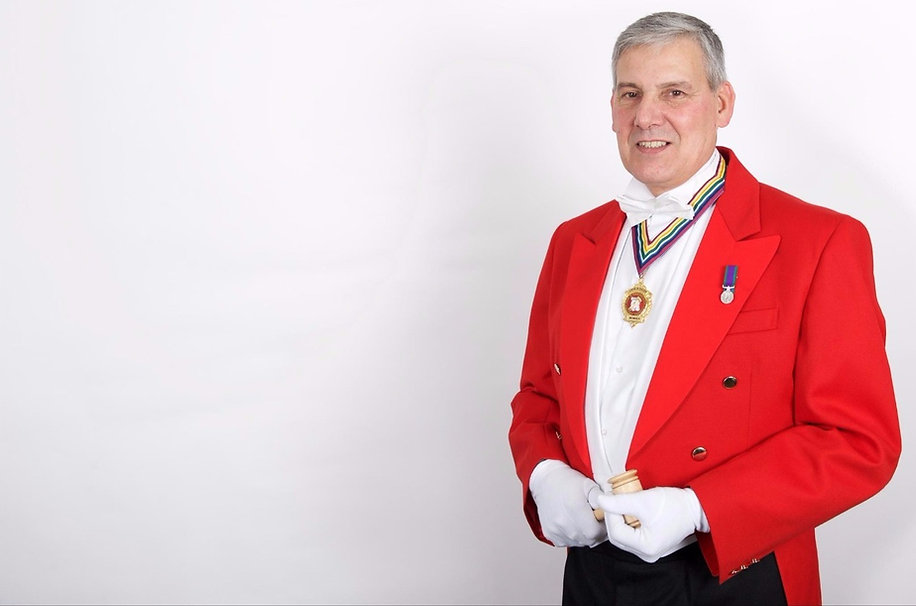 Toastmaster John Daley