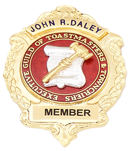 John R Daley Executive Guild of Toastmasters and Towncriers