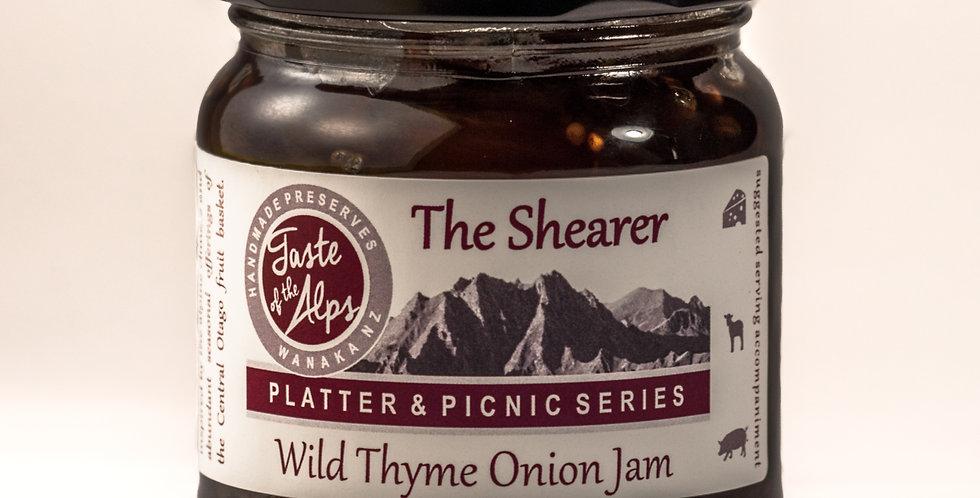 The Shearer, Wild thyme onion jam