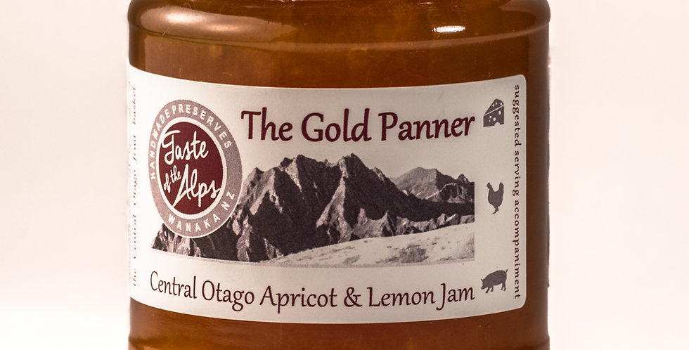 The Gold Panner, Central Otago Apricot & lemon jam