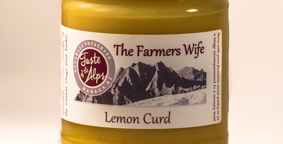 The Farmer's Wife, Lemon curd