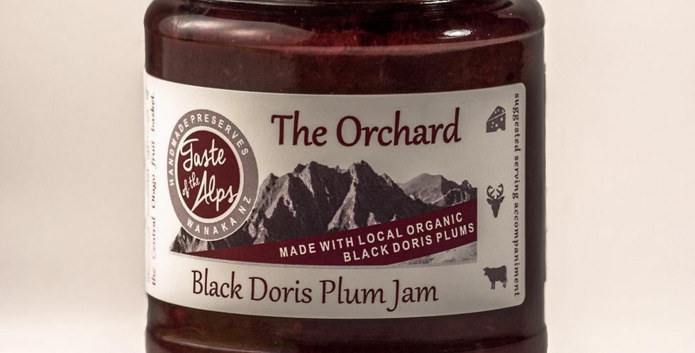 The Orchard. Black Doris plum jam