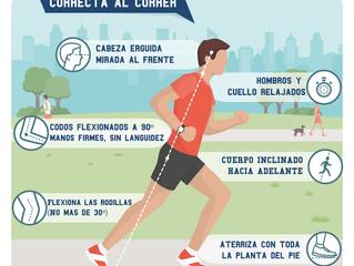 Salir a correr tiene numerosos beneficios pero siempre haciéndolo de la forma correcta.