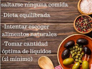 Consejo nutricional.
