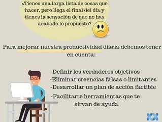 Intentar mejorar nuestra productividad nos ayudará a cumplir largas listas de tareas con éxito. ¡Pon