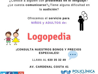 Servicio de Logopedia.