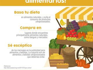 Cuidar tu alimentación es cuidar tu salud.