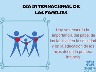 15 de mayo. Día Internacional de las Familias.