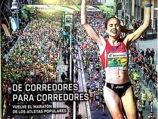 Nos orgullece anunciaros la Revista Oficial del Maratón de Castellón donde somos patrocinadores para