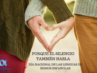 Día de la Lengua de Signos.