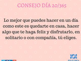 Consejo 20/365
