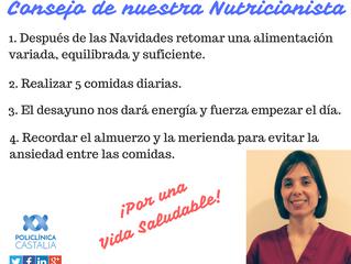 Consejo de nuestra Nutricionista