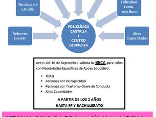 BECAS EDUCACIÓN CURSO 2017-2018