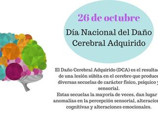 Día Nacional del Daño Cerebral Adquirido.