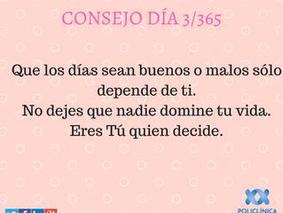 Consejo 3/365