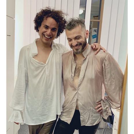 With Filippo Minnecia in Berenice