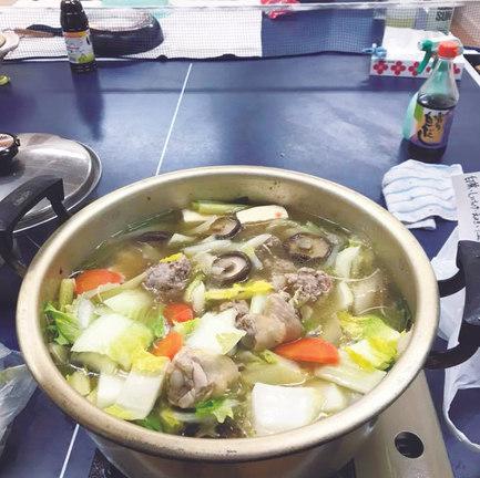 まなびの家食堂,お鍋