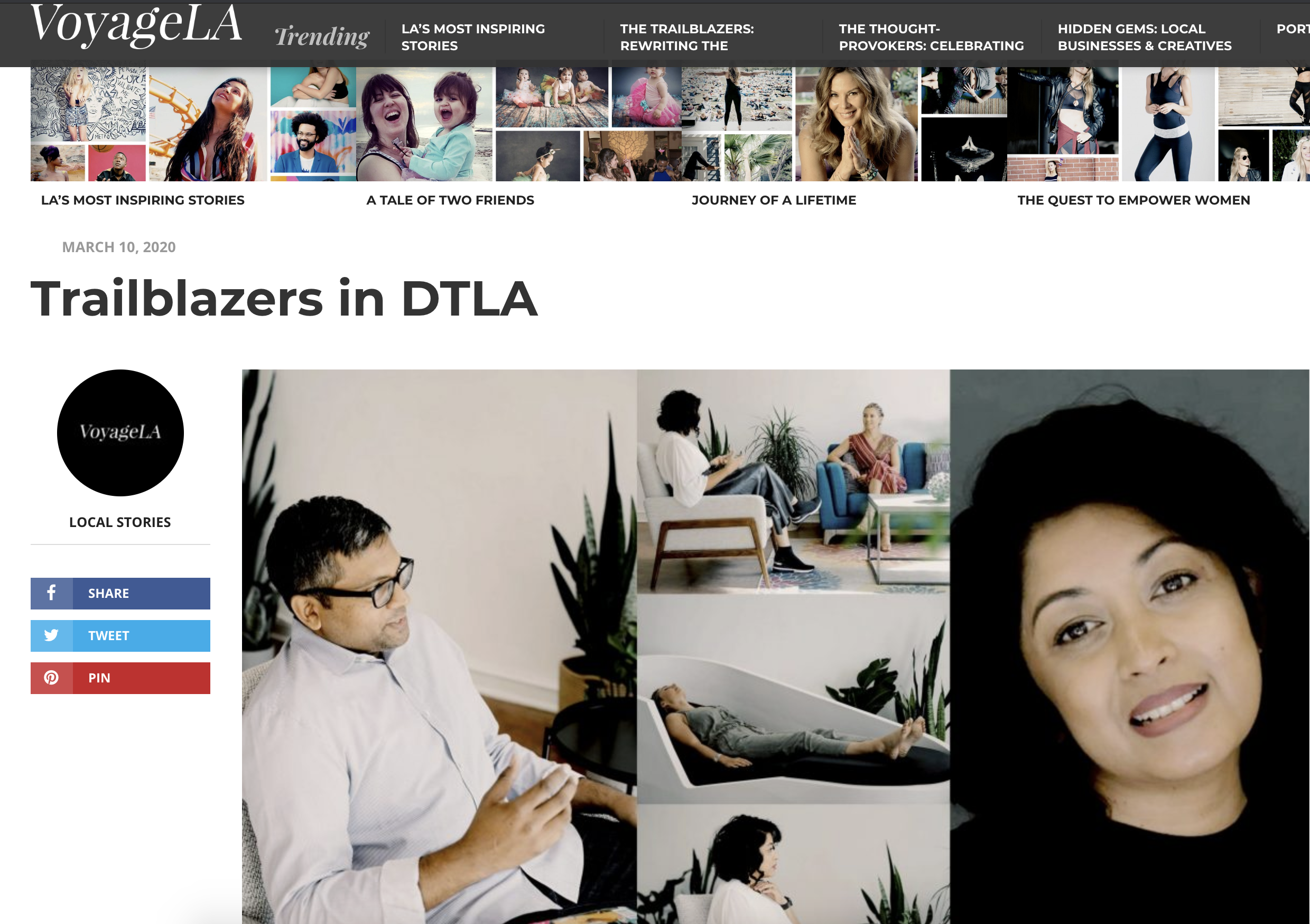 Trailblazers in DTLA