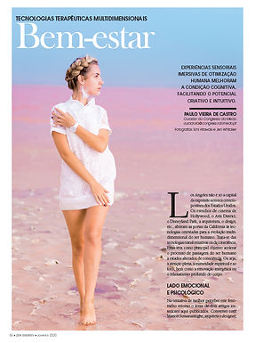 Neuma Being featured in Portuguese magazine